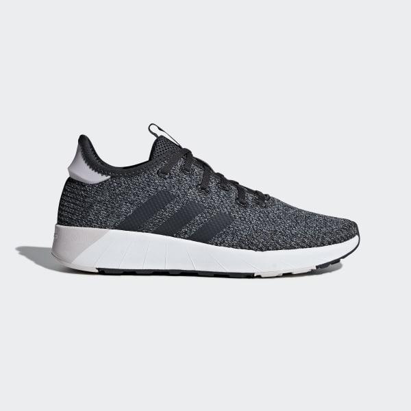Grijze dames schoen Adidas - B96490 Questar X BYD - CBLACK/CARBON/GR