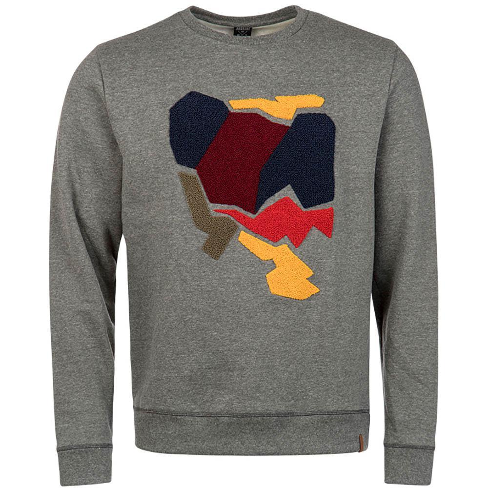 grijze heren sweater Protest Halfpipe 3713482 592
