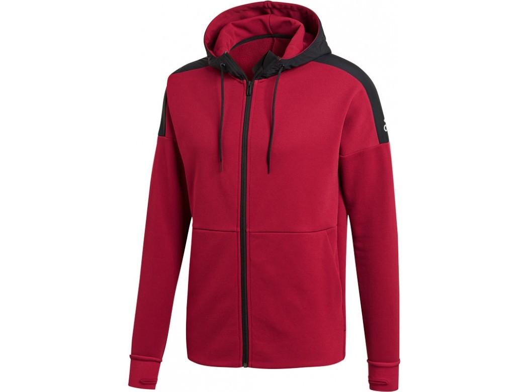 Zwart/Rood heren jack Adidas - CY9881 M ID CH STA - NOBMAR