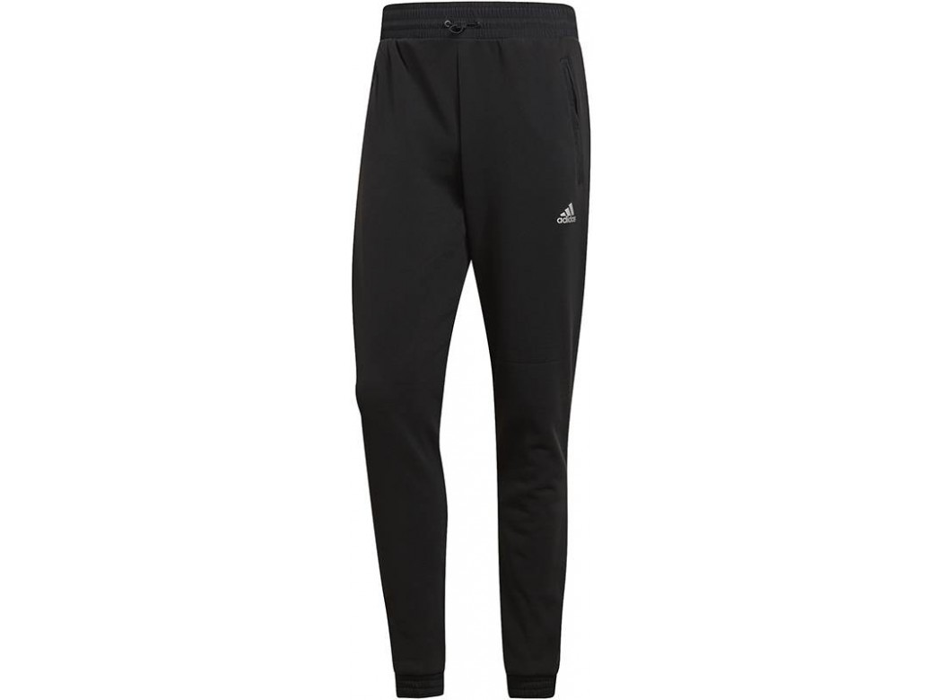 Zwarte heren joggingsbroek Adidas - CY9882 M ID CH STA PT -  BLACK