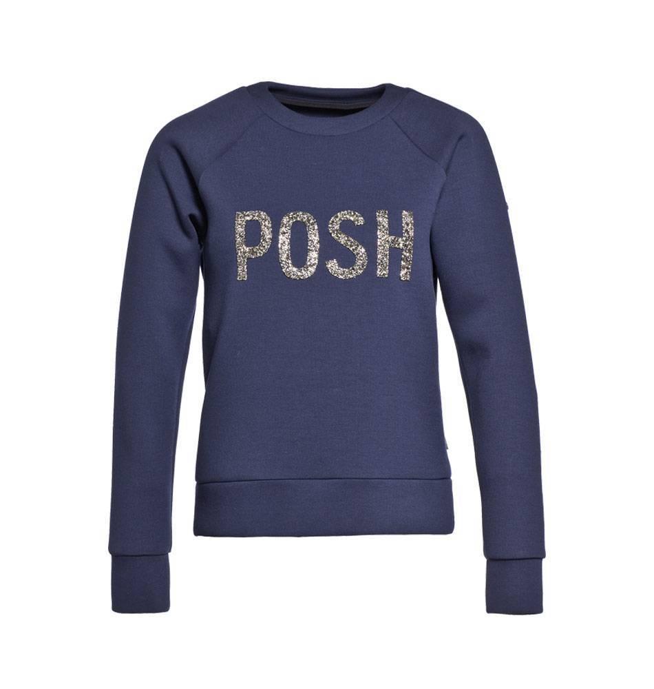 Donkerblauwe dames trui/sweater Goldbergh - Mira