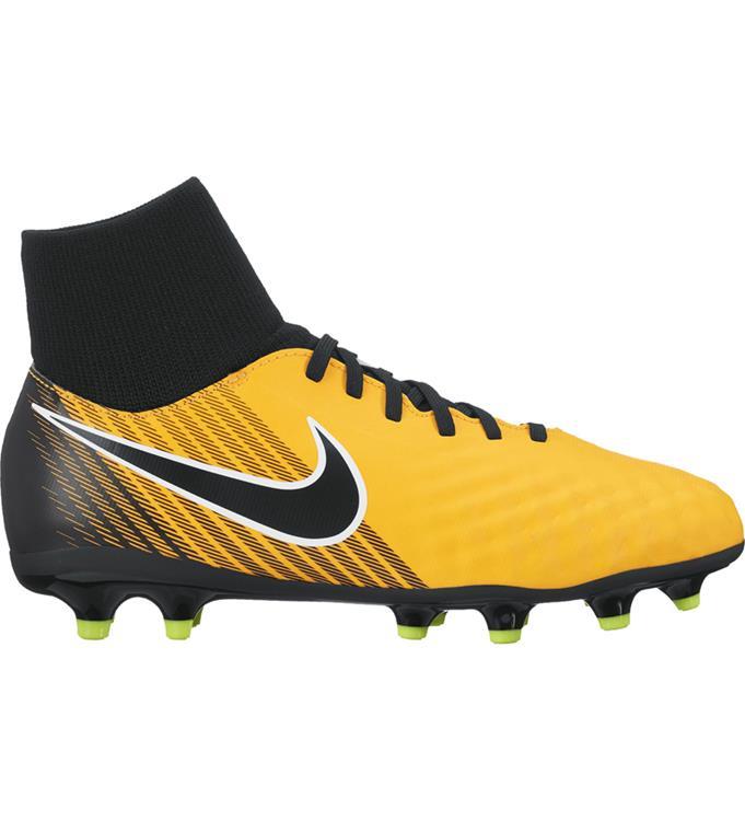 Zwart/Geel kinder voetbalschoen Nike - 917776 JR Magista Onda - 801