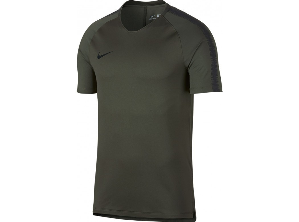 Groen heren shirt - Nike 894539 Breathe Squad - 325