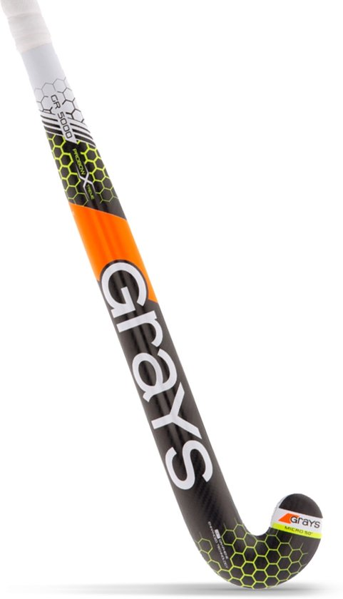 Zwart Gele Zaalstick Grays GR5000 Dynabow - 2280063