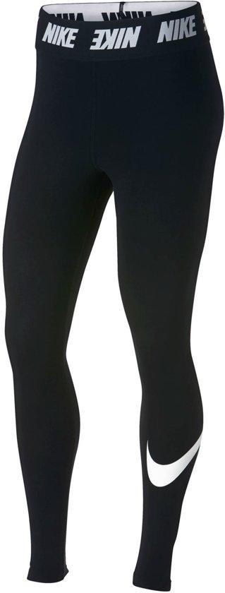 Zwarte dames legging Nike SW Club HW - AH3362 010