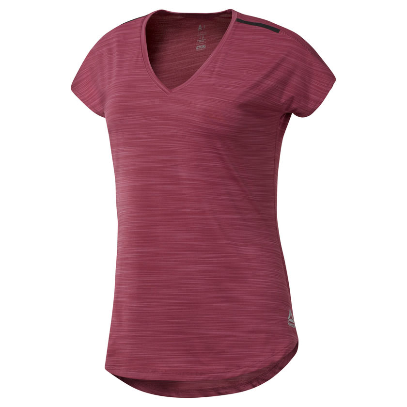 Paars dames trainingsshirt Reebok Activchill - D94176