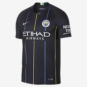 Blauwe heren shirt Nike - 2018/19 MCFCY Away  -476
