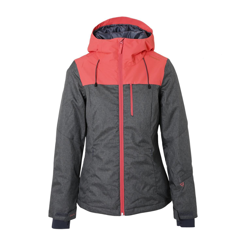 Grijs dames skijack Brunotti Shasta 0368