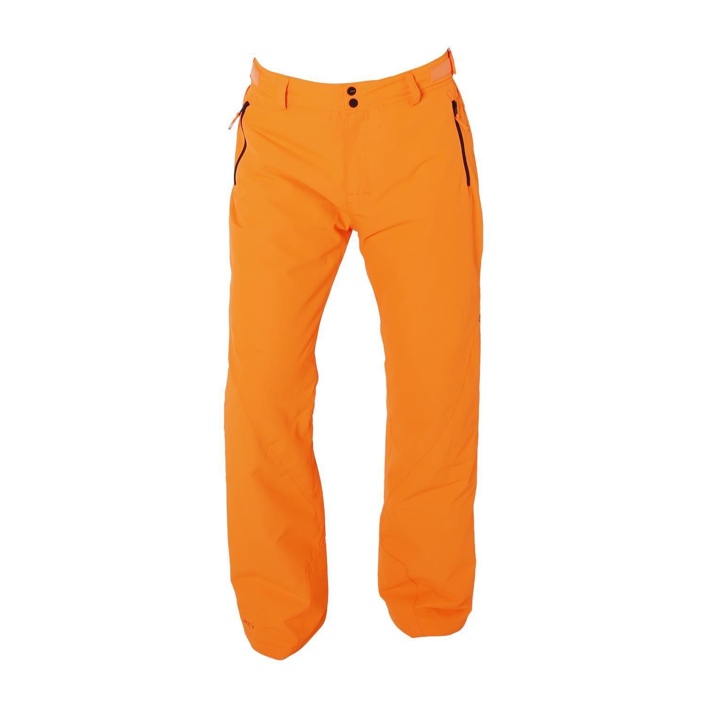 Oranje heren skibroek Brunotti Gobi 0138