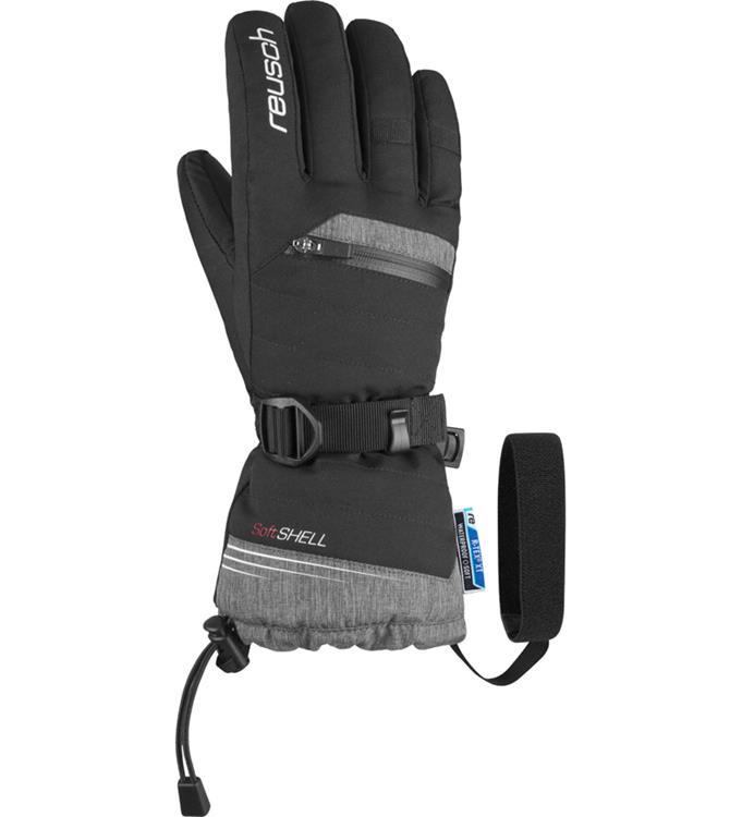 Zwart grijze dames handschoenen Reusch Dominique R-Tex XT - 4831227 768