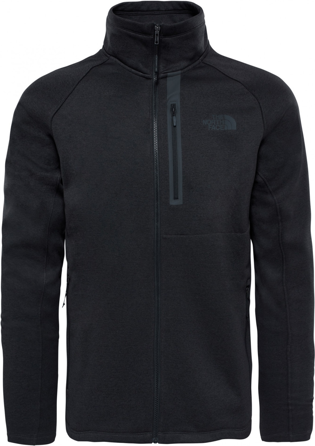 Zwarte heren hoody met rits The North Face Canyonlands FZ T92TXIJK3