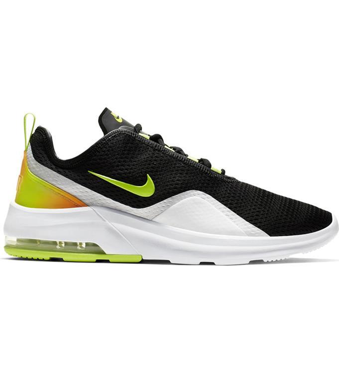 Zwart witte herenschoenen Nike Air Max Motion 2 - AO0266