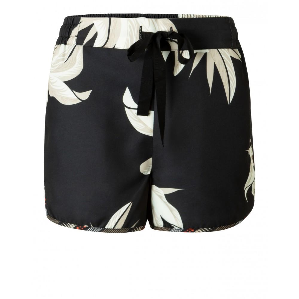 Zwart dames short met print YAYA - 123104-915