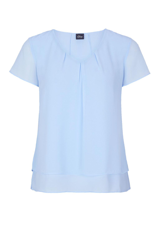 Blauwe dames top S Oliver - 01.899.12.5102.5061