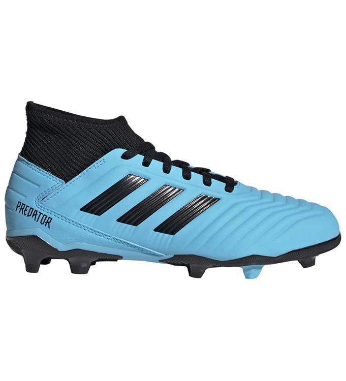 Lichtblauwe voetbalschoenen Adidas Predator 19.3 - G25796