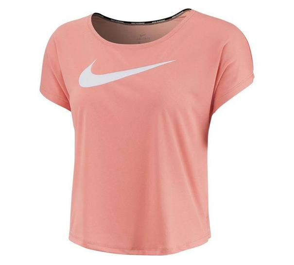 Roze dames tshirt Nike Swoosh Run - CI9493 606