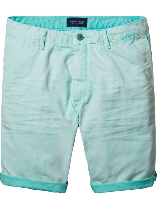 mintkleurige korte broek Scotch & Soda 131026 80