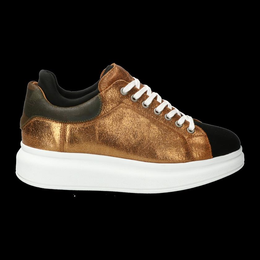 Gouden dames sneaker Shabbies - 101020042 - gold
