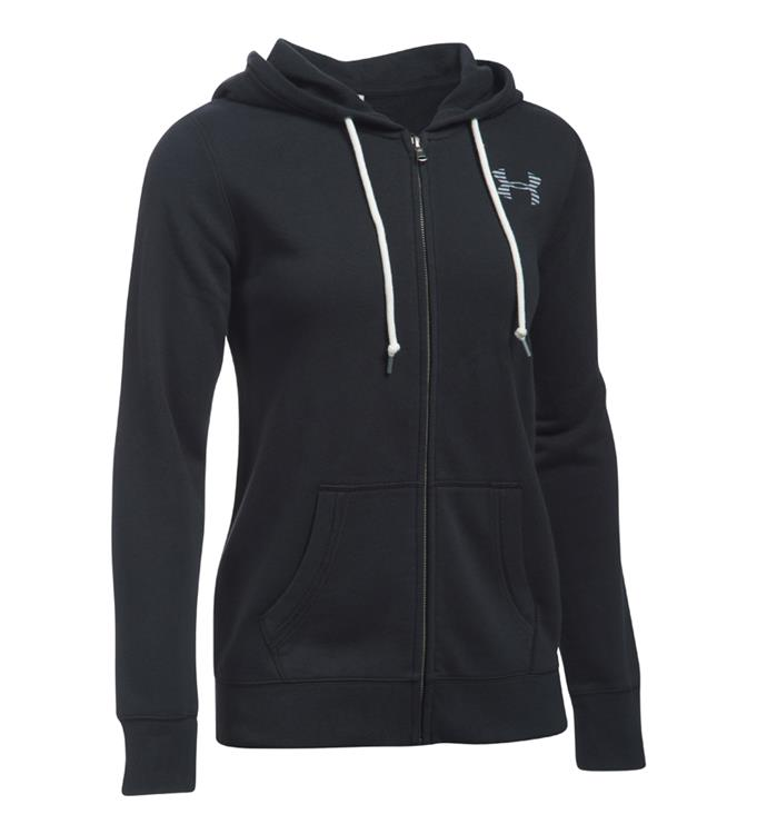 Zwarte dames hoodie Under Armour 1291744-001