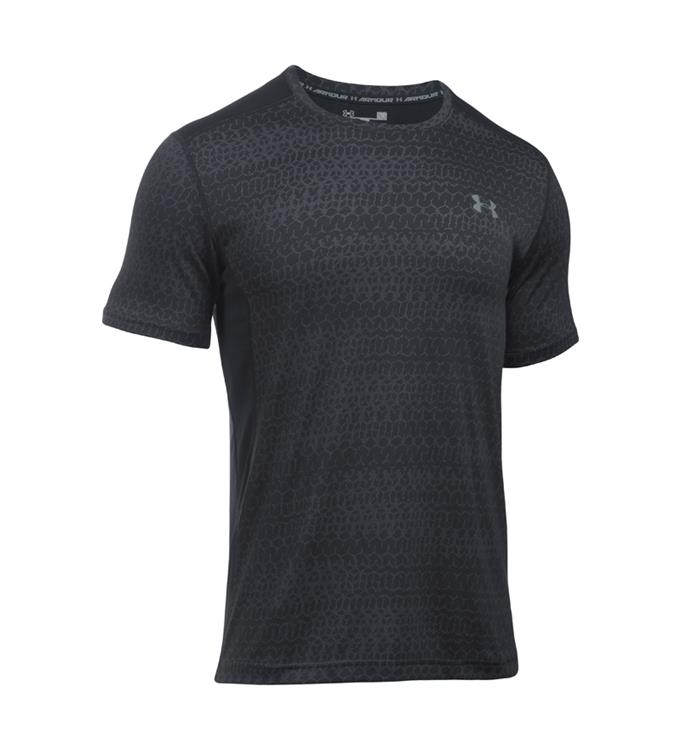 Grijs zwart heren shirt Under Armour 1294215-001