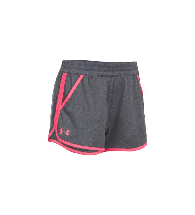 Grijs kort dames sport short Under Armour - 1299097-090
