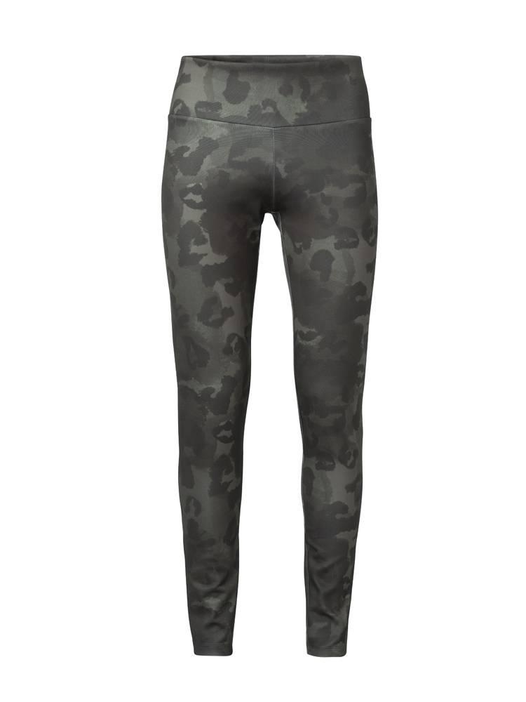 Groene dames legging met print YAYA - 125919-923