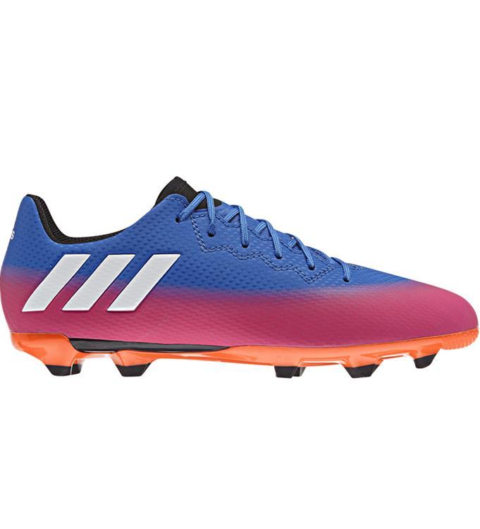 Blauw/Paars Adidas Messi 16.3 FG Junior