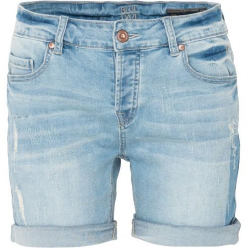 Lichtblauwe korte dames broek denim Summum - 4s1535