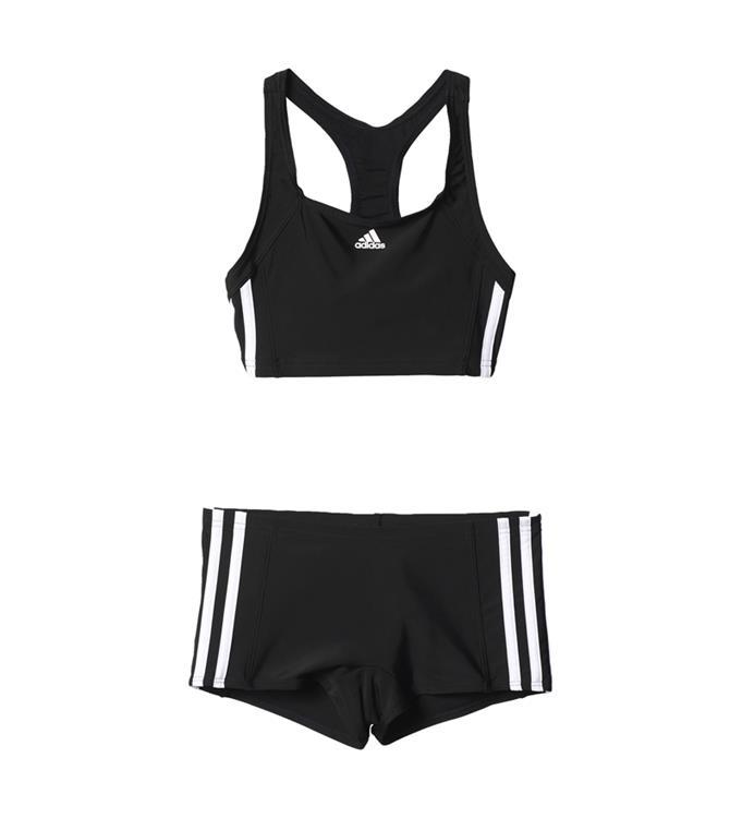 Zwart witte meisjes bikini Adidas - BP9479