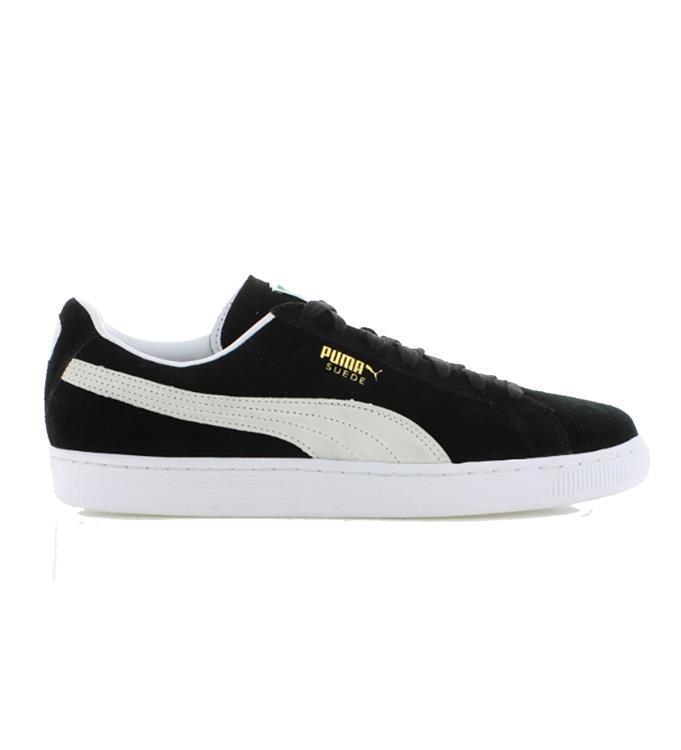 Zwarte Unisex Sneaker Puma Suède classic  - 352634
