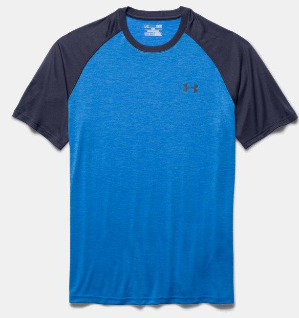 Blauw Tshirt Under ARmou  1228539 433
