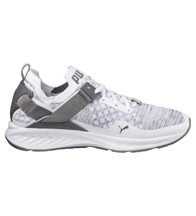 Wit grijze Heren Sneaker Puma Ignite Evoknit LO - 189904