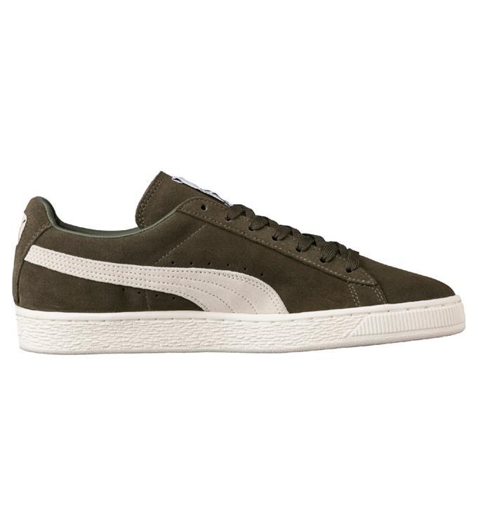 Groene Unisex Sneaker Puma Suede Classic - 363242