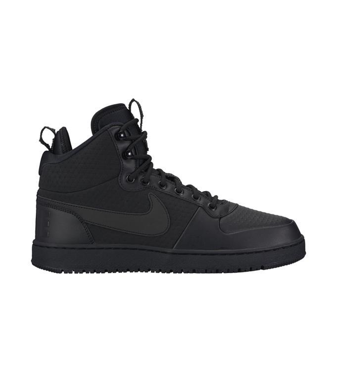 Zwarte heren Sneaker Nike Court Borough Mid - AA0547