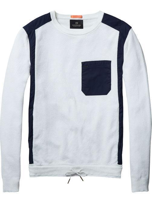 Witte sweater Scotch & Soda 130910 01