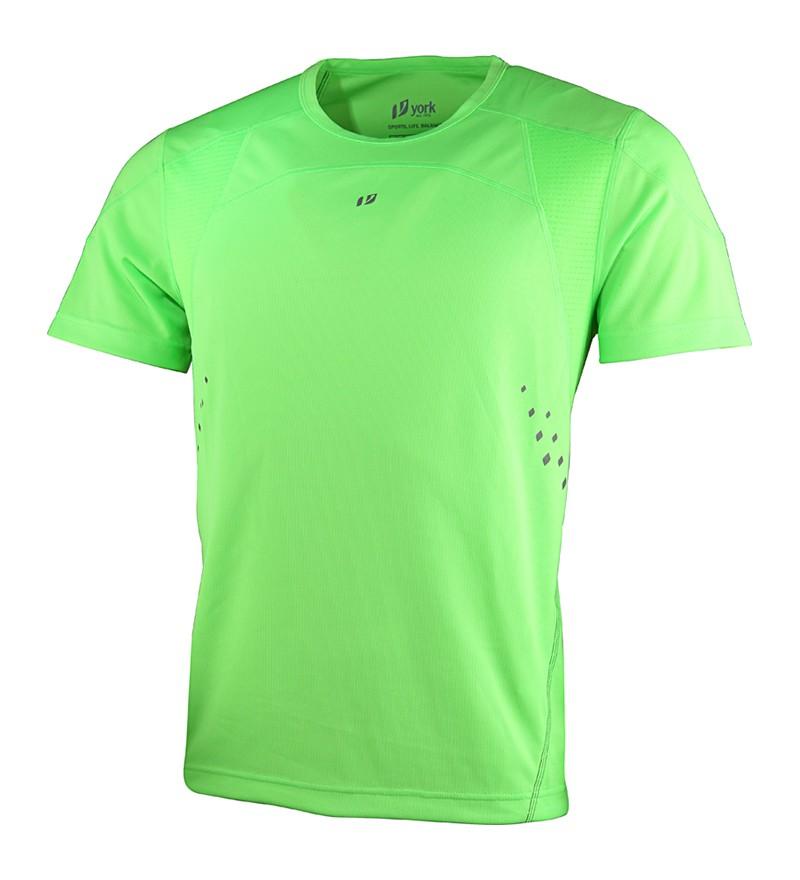 lime groen hardlooptshirt heren York Kyle 6000