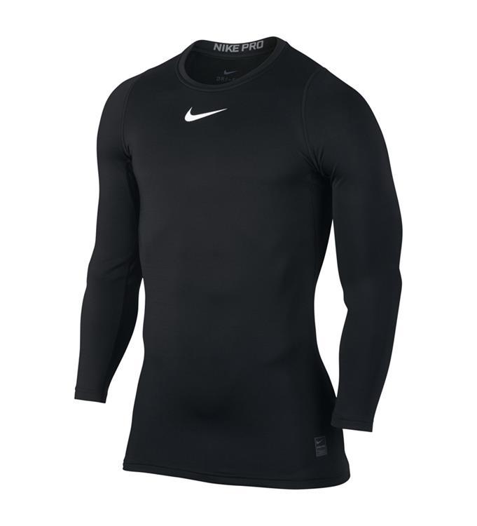 Zwarte heren top lange mouw Nike - Compressie
