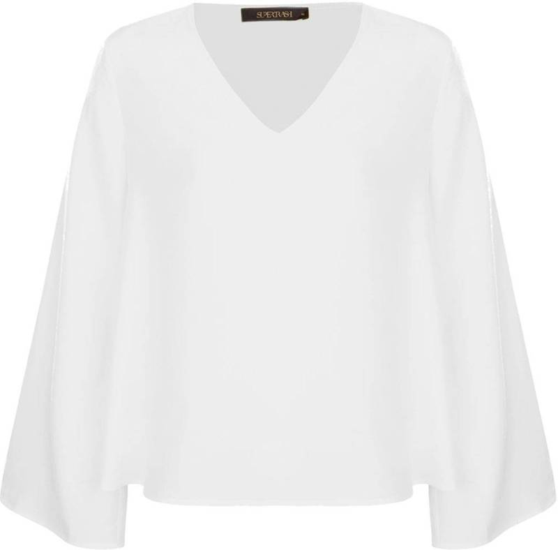 Witte dames blouse Supertrash - Bembisa