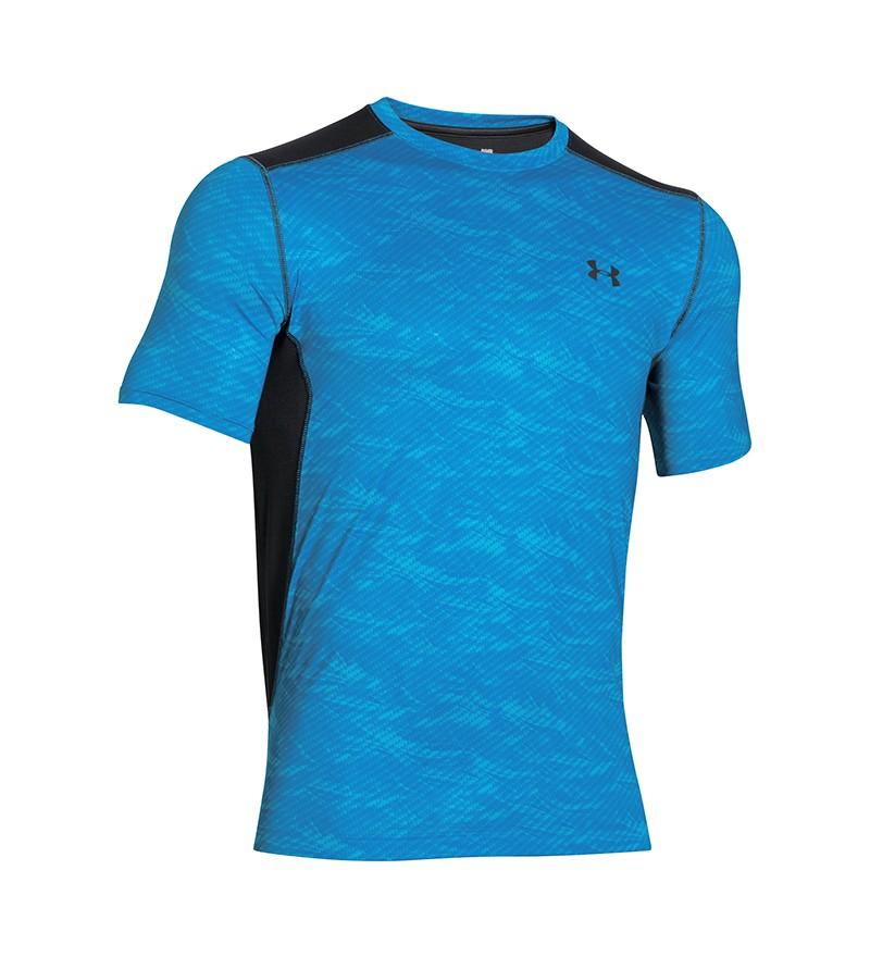 Blauw Tshirt Under ARmour 1257466 429