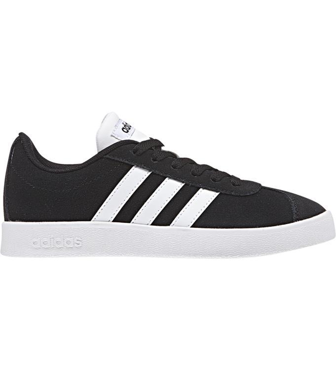 zwart witte heren sneaker Adidas VL Court 2.0 - DA9853