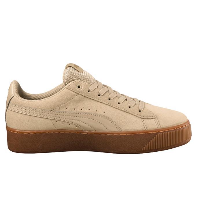 Beige dames sneaker Puma - Platform