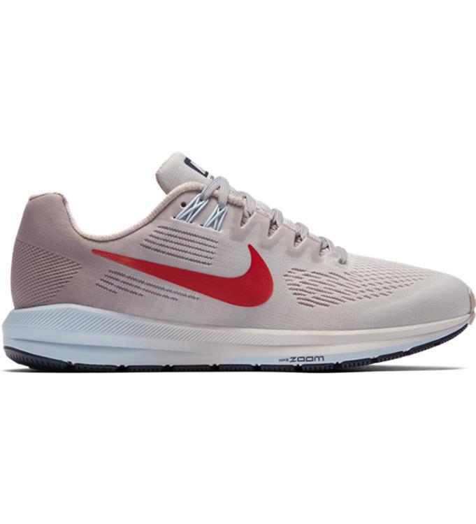 grijs rose Dames hardloopschoen Nike air zoom Structure 21 904701-006