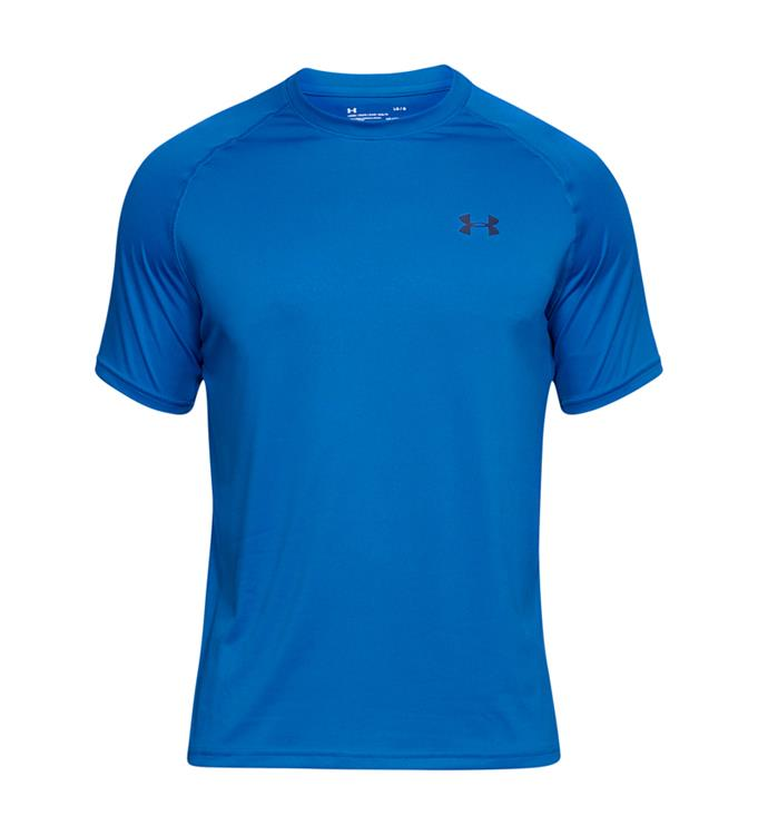 Blauw heren shirt Under Armour - UA Tech SS