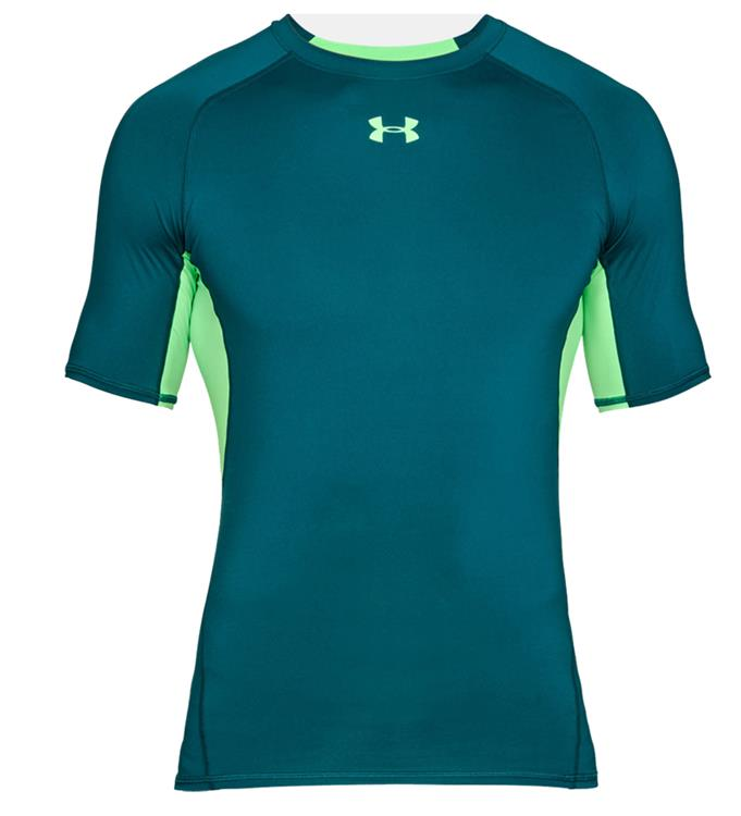 Groen heren shirt Under Armour - HG Armour ss