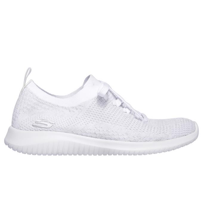 Witte dames Sneaker Sketchers ultra flex Salutations - 12843