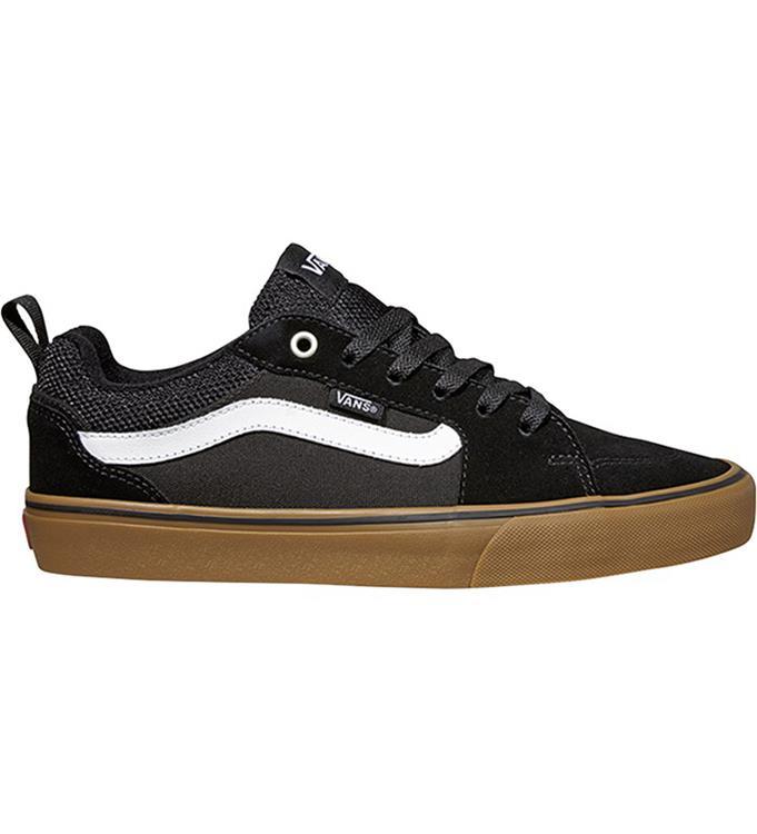 Zwart wit bruine heren sneaker Vans Filmore - VN0A2MTJQ33