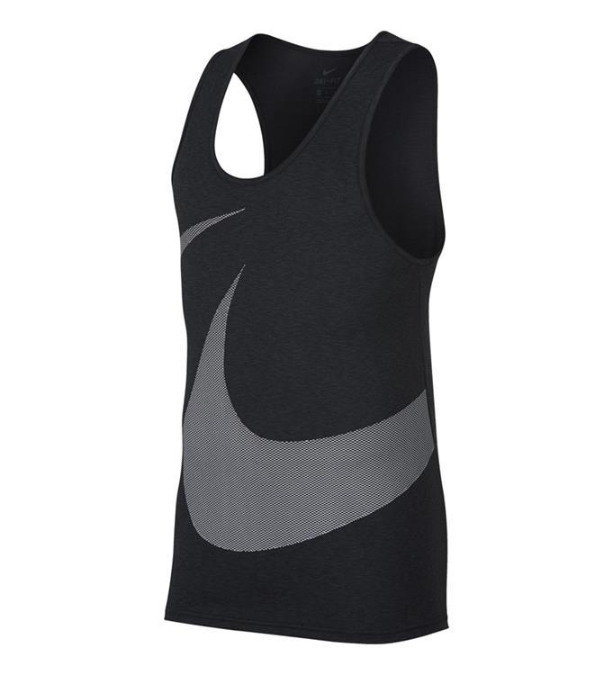 zwart witte Tank Top Nike Dry Tank hpr dry gfx - 889633-010