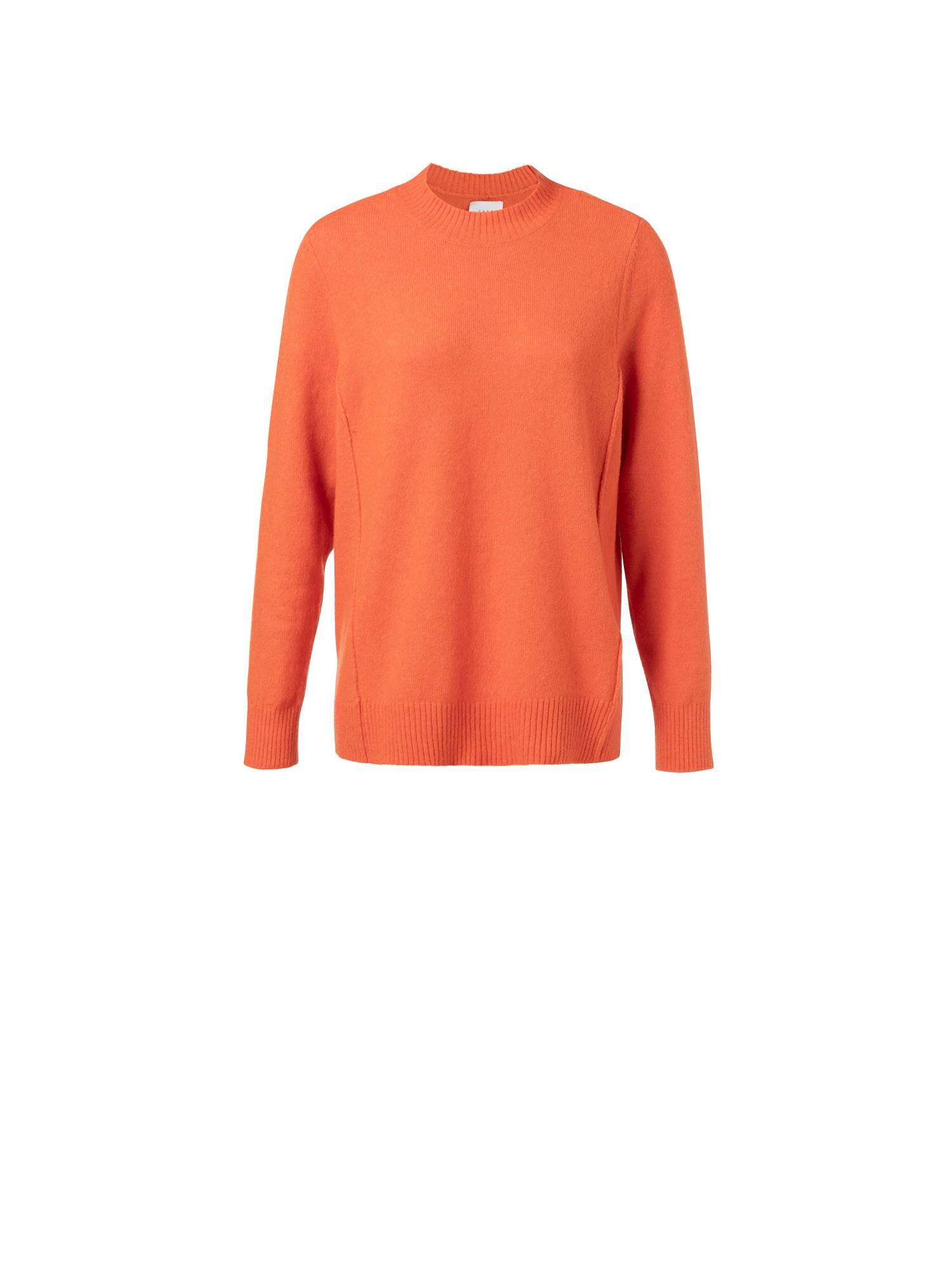 Oranje dames trui met zoomlijnen - 1000224-924 - 99196