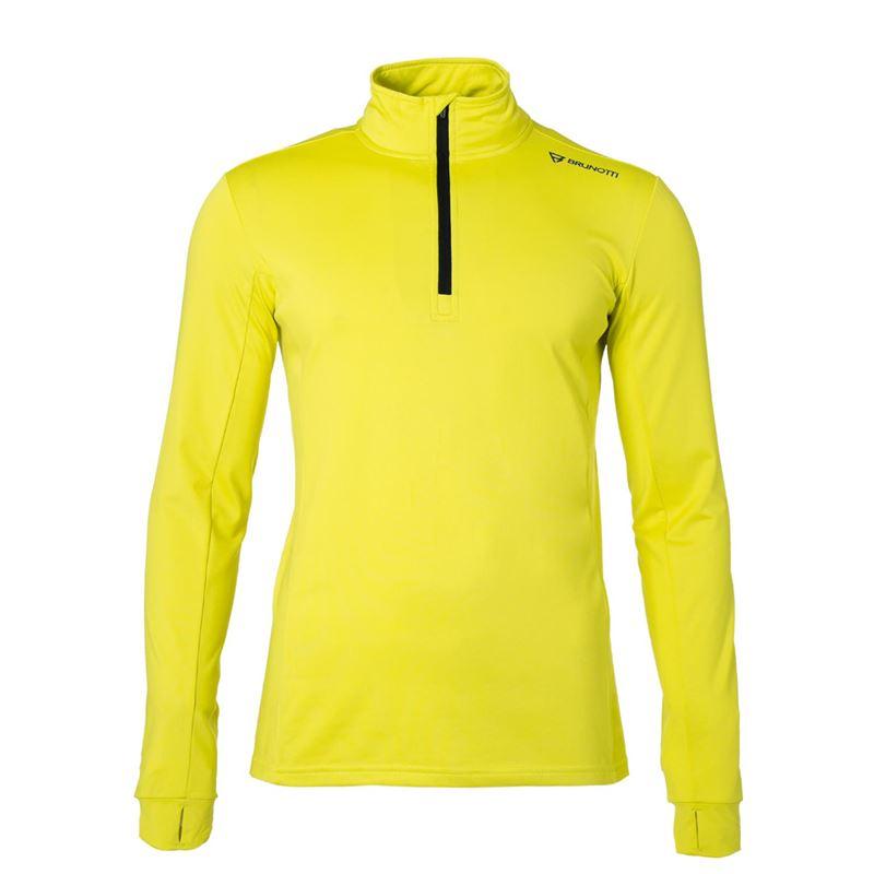 Gele heren ski pully Brunotti - Terni