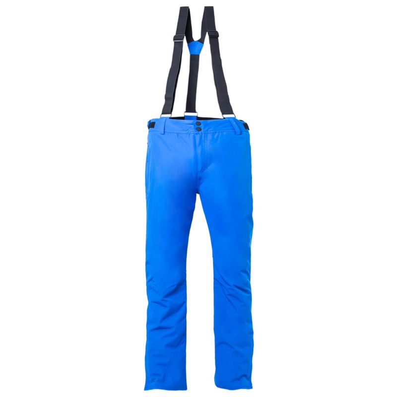 Blauwe heren snow/ski broek Brunotti - Footstrap